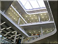 TQ2681 : City of Westminster College - atrium and skylight by David Hawgood