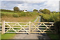 SN0608 : Gate and drive, Moor Farm by Philip Halling