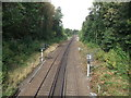 TQ3870 : Railway to Beckenham Hill by David Anstiss