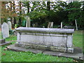 TQ3369 : All Saints Church, Upper Norwood: grave of George de Sidenham by Christopher Hilton
