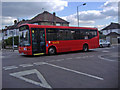 TQ3092 : 299 bus on Powys Lane, Palmers Green by David Howard