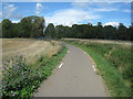 TL4749 : Cycleway to Sawston by Logomachy