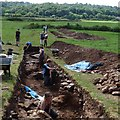 ST3390 : Archaeological excavations, Caerleon [3] by Robin Drayton