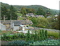 SK2268 : Hillside houses and gardens at the edge of Bakewell by Andrew Hill