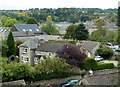 SK2268 : Part of Bakewell town seen from Station Road by Andrew Hill