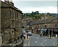 SK2168 : Into Bakewell town centre from the bridge by Andrew Hill