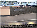 SX9372 : Wall and gratings at Gate No.10  by Robin Stott