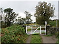 SK2578 : Southern Entrance to the Longshaw Estate by Chris Heaton