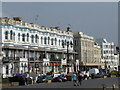 TQ1402 : Worthing: Marine Parade frontages by Chris Downer