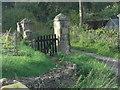 ST7568 : Entrance to Mill Farm, Wooley by Stuart Logan