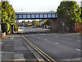 SJ7995 : Park Road Railway Bridge by David Dixon