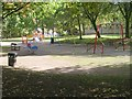SE1437 : Play Area - St Paul's Road by Betty Longbottom
