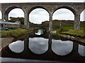 NJ5067 : Railway viaduct at Cullen by Peter Barr