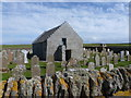 HY4852 : Papa Westray: St. Boniface kirk by Chris Downer