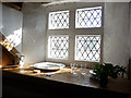SH7877 : Windowsill in furnished attic room, Plas Mawr by Phil Champion