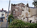 SH7877 : Rear of building at the corner of High Street and Church Street, Conwy by Phil Champion