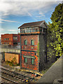 SJ8389 : Northenden Junction Signal Box by David Dixon