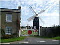 TL3868 : Over Windmill from Longstanton Road by Ian Yarham