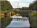 SJ8390 : River Mersey, Northenden by David Dixon