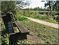 TL4964 : A bench by the Cam by John Sutton