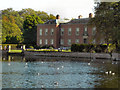 SJ7387 : Dunham Massey Hall and Moat by David Dixon