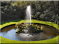 SJ7387 : Dunham Massey Fountain by David Dixon