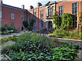 SJ7387 : Dunham Massey Hall Inner Courtyard by David Dixon