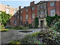 SJ7387 : The Inner Courtyard, Dunham Massey Hall by David Dixon