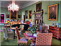 SJ7387 : The Saloon, Dunham Massey Hall by David Dixon