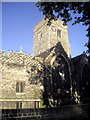TQ5474 : Holy Trinity Church Dartford by PAUL FARMER