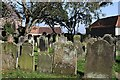 NT9952 : St Bartholomew and St Boisil Churchyard at Tweedmouth by Walter Baxter