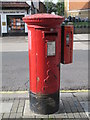 TQ2282 : Edward VII postbox, Harrow Road / Felixstowe Road, NW10 by Mike Quinn