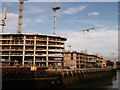 TQ3777 : Deptford Creek development (2) by David Anstiss