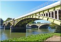 TQ1774 : Richmond Railway Bridge by Mike Smith