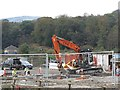 NS7278 : Building site, Stirling Road by Richard Webb
