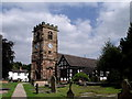 SJ7474 : St. Oswald's, Lower Peover, Cheshire by nick macneill