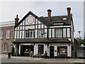 TQ2282 : Mock Tudorbethan building, Harrow Road, NW10 by Mike Quinn