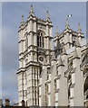 TQ3079 : Towers - Westminster Abbey by Mick Lobb