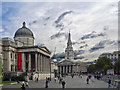 TQ2980 : Trafalgar Square - London by Mick Lobb