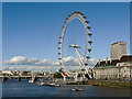 TQ3079 : The London Eye and County Hall by Mick Lobb