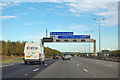 TL1688 : A1(M) - junction 16 in one mile by Robin Webster