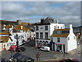 SY3492 : Lyme Regis: The Square by Chris Downer