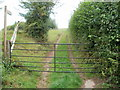 SO3828 : Public footpath near Ewyas Harold by John Grayson