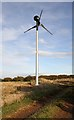 NT5568 : A wind turbine at Townhead by Walter Baxter