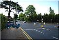 SP0882 : Traffic lights, Wake Green Rd by N Chadwick