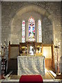 ST8115 : Interior, St Nicholas Church by Miss Steel