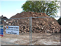 SO8172 : A pile of rubble, formerly the New Manor public house, Stourport-on-Severn by P L Chadwick