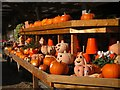 TQ7228 : Pumpkins at Orchard Farm Shop : Week 42