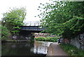 SP0786 : Bridge over the Grand Union Canal by N Chadwick
