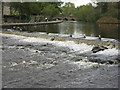 SK2168 : Weir on the Wye by M J Richardson